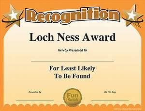 free printable certificates funny printable certificates With joke certificate templates