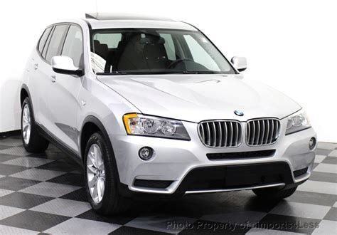 2013 Used Bmw X3 Certified X3 Xdrive28i Awd Suv Navigation