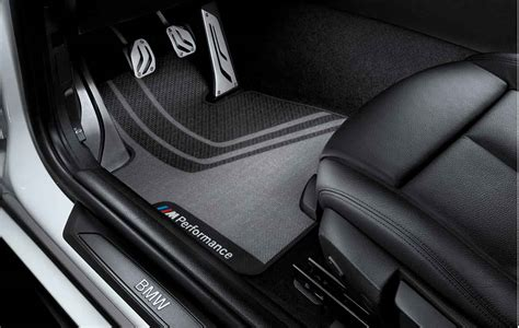 Bmw Floor Mats 335i by Bmw M Performance Genuine Front Floor Mats Set F30 F31 3