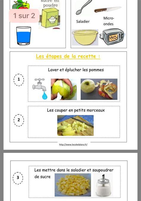 epingle par elodie carulli sur pomme recette maternelle