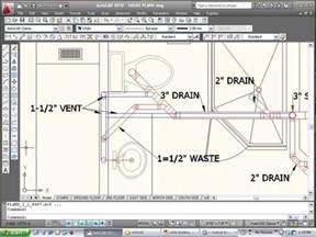 plumbing blueprints pictures exle of cad plumbing drawing 2nd story addition