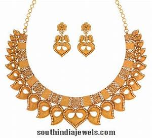 Gold Necklace Design From Joyalukkas ~ South India Jewels
