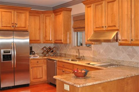 granite colors for maple cabinets there are five