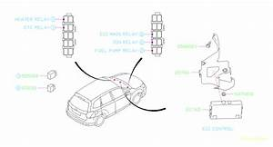 2015 Subaru Forester Accessory Power Relay  Electrical