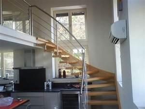 Escalier Quart Tournant Gauche : escaliers deparis 77 escaliers en bois sur mesure ile de ~ Dailycaller-alerts.com Idées de Décoration