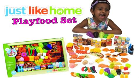 Learn Food With Peppa Pig Just Like Home Deluxe Playfood