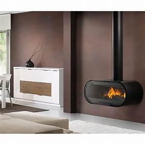 Poele Suspendu Design : po le bois suspendu design rocal d 8 x1285 dcharby ~ Melissatoandfro.com Idées de Décoration