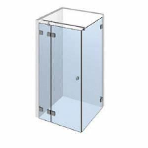 Porte De Douche D Angle : kit porte de douche d 39 angle sur paroi fixe gauche ~ Edinachiropracticcenter.com Idées de Décoration