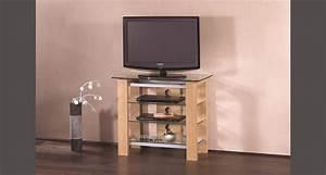 Meuble Tele Haut : meuble haut tele meuble television d angle maison boncolac ~ Teatrodelosmanantiales.com Idées de Décoration