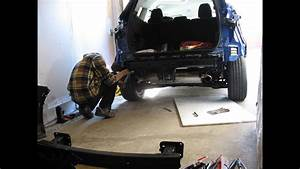 Timelpse  Installing An Oem Trailor Hitch On Ford Escape 2014