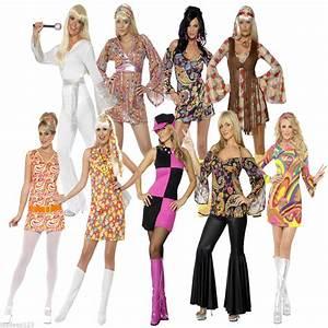 Womens Ladies 60s 70s Retron Hippie Hippy Groovy Fancy ...