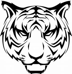 Tiger Head Transparent