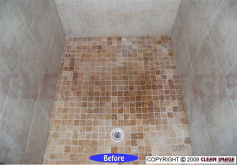 marble shower floor refinishing and tile