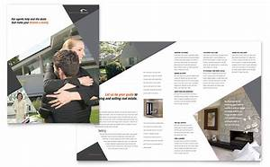 contemporary modern real estate brochure template design With real estate booklet template