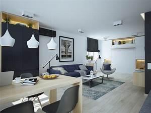 Idée Déco Petit Appartement : am nager et d corer un appartement de moins de 50m2 ~ Zukunftsfamilie.com Idées de Décoration