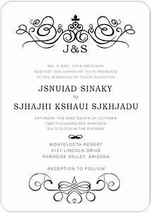 cheap church wedding invitations online destination With wedding invitations wording church and reception