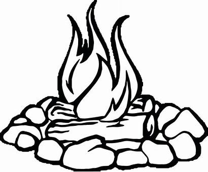 Coloring Fire Pages Hearts Flames Printable Getcolorings