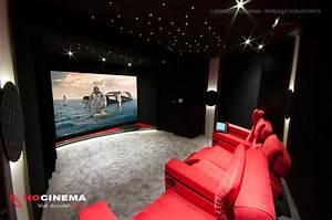 Cinema A La Maison : hocinema la salle de cin ma maison lynx en d tail ~ Louise-bijoux.com Idées de Décoration