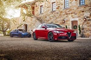 Wallpaper Alfa Romeo 2016-17 Giulia Red Cars Metallic