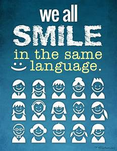 We all SMILE in... Same Smile Quotes