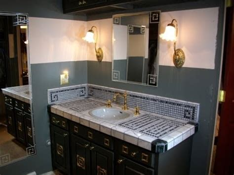 choosing materials  build  mosaic vanity top youtube