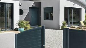 La Maison Du Volet : portail porte d 39 entr e porte de garage nos conseils pour acheter et harmoniser c t maison ~ Melissatoandfro.com Idées de Décoration