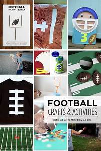 Football Crafts & Activities for Kids — All for the Boys
