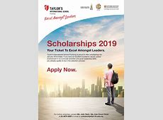 Scholarships 2019 Admissions PC Taylor's