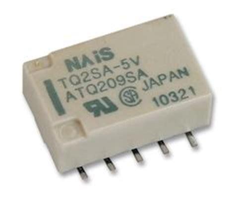 Tqsa Panasonic Electric Works Signal Relay Vdc Dpdt