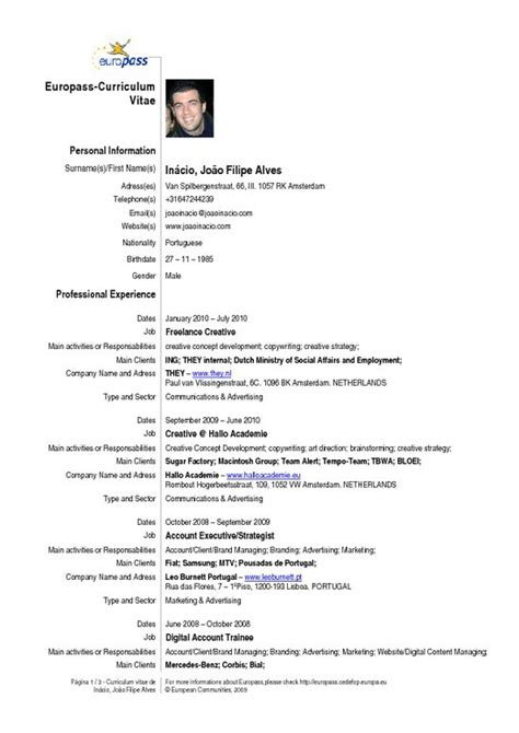 Curriculum Vitae Meaning English Example Good Resume Template