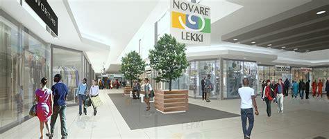 lagos biggest shopping centre  novare lekki mall