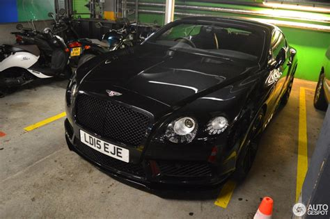 bentley continental gt   concours series black  july