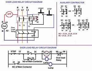 Over Load Relay  U0026 Contactor For Starter