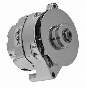 Tuff Stuff Replacement Alternator 100 Amps Chrome Plated
