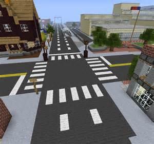 Minecraft City Streets