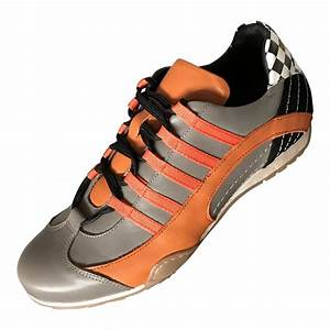 Grand Prix Originals : grandprix origianls racing sneaker grey and orange ~ Jslefanu.com Haus und Dekorationen