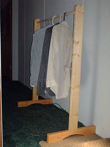 How To Build A Clothes Rack With Wood Plans DIY Free