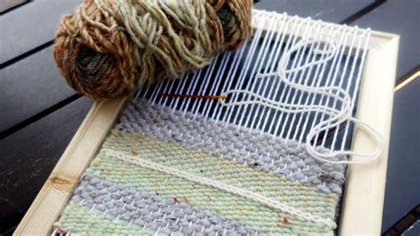 diy simple weaving loom tutorial ehow
