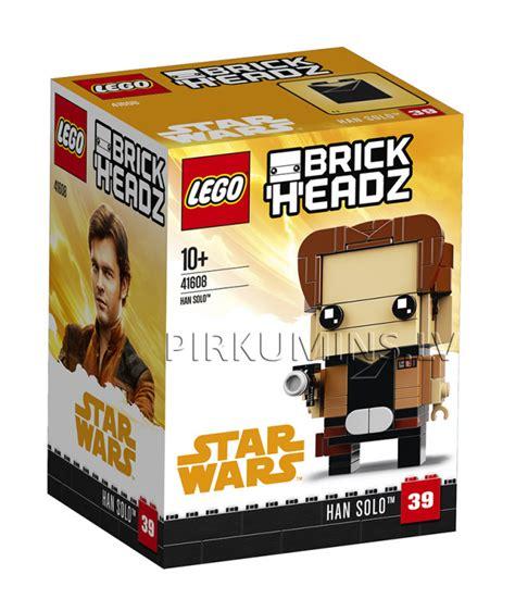 41608 LEGO® BrickHeadz Han Solo™, no 10 gadiem NEW 2018 ...