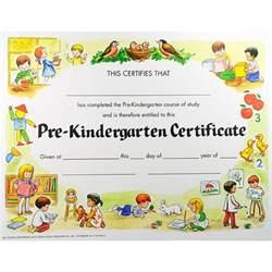 Free Printable Pre-K Certificates Templates