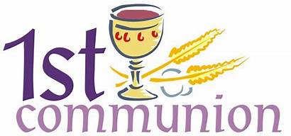 Communion Eucharist 1st Clipart Catholic Congratulations Formation
