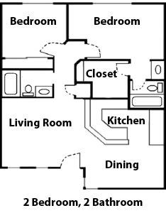 Wiring Diagram For Two Story House by Diagram Floor Plan Of A 2 Bedroom Apartment Flat At The
