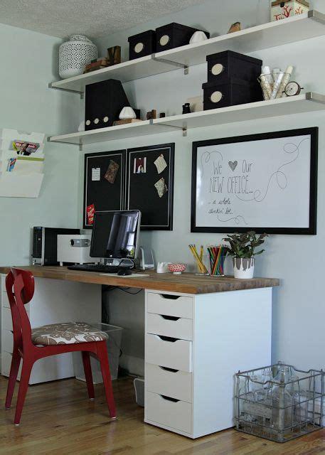 bureau emploi qu饕ec 17 meilleures idées à propos de bureau ikea sur bureaux bureau à domicile et décor de salle d 39 étude