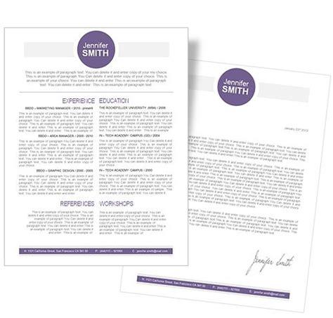 Son design professionnel et élégant saura attirer les regards des. CV Template • CV Template Package Includes: Professional ...
