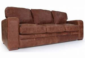 Urbanite rustic leather extra large sofa from old boot sofas for Large rustic sectional sofa