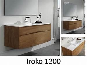 meubles lave mains robinetteries meuble sdb meuble de With salle de bain design avec meuble 120 salle de bain