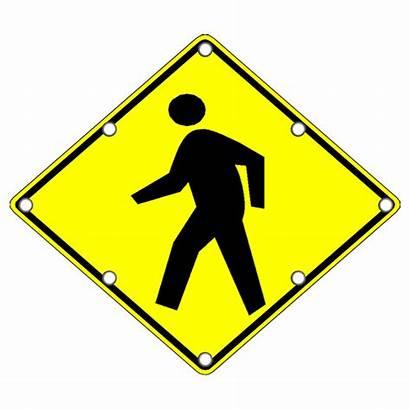 Pedestrian Crossing Flashing Led Signs Traffic W11