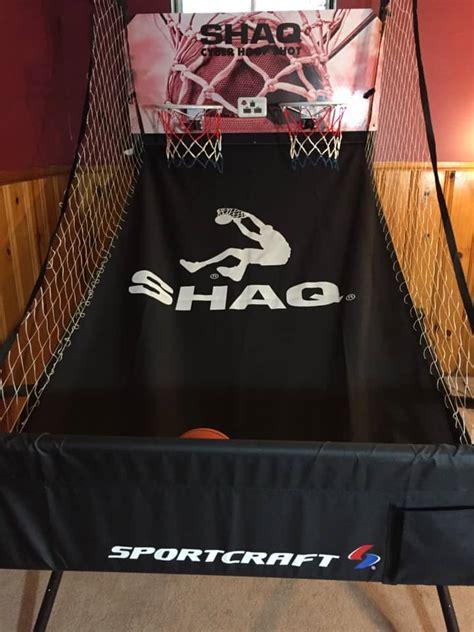 shaq cyber hoop shot basketball arcade review