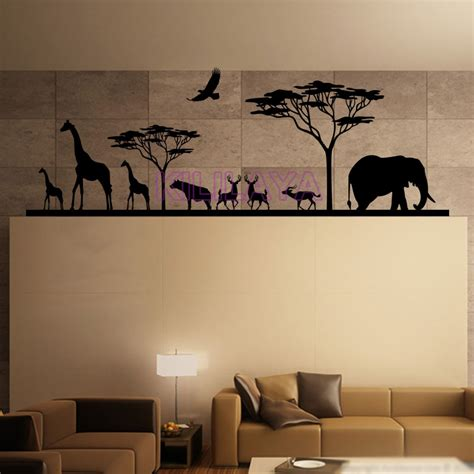 stickers muraux chambre adulte and animals vinyl wall decals