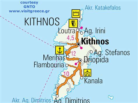 map  kythnos greece